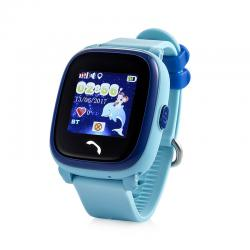 Ceas inteligent pentru copii GW400S Bleu rezistent la apa, cu telefon, GPS, touchscreen ,monitorizare spion,