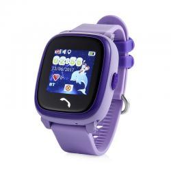 Ceas inteligent pentru copii GW400S Mov rezistent la apa, cu telefon, GPS,touchscreen ,monitorizare spion