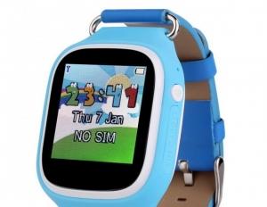 Ceas inteligent pentru copii POPI Bleu cu telefon, GPS, WIFI, touchscreen ,monitorizare spion