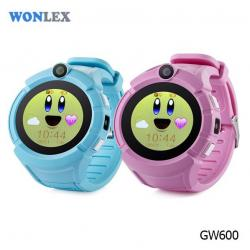 Ceas inteligent pentru copii WONLEX GW600 Albastru cu GPS, telefon, localizare WiFi, ecran touchscreen color, monitorizare spion5