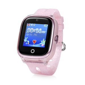 Ceas inteligent pentru copii WONLEX KT01 Roz cu GPS, rezistent la apa, camera foto, monitorizare spion1