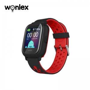 Ceas Inteligent pentru copii WONLEX KT04 Negru, cu GPS, rezistent la apa, localizare WiFI si monitorizare spion1