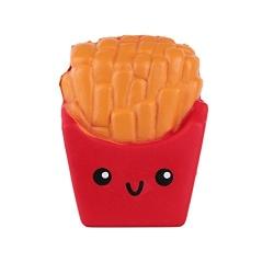 SQUISHY - Cartofi prajiti - Rosu