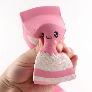 SQUISHY - Milk Box Pink - Cutie Lapte Roz