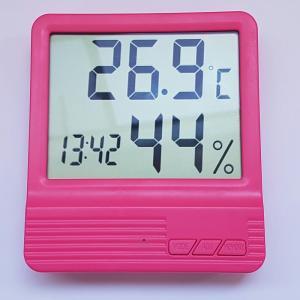 Termometru camera copii  cu ceas, alarma, si higrometru ROZ5