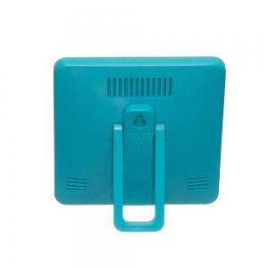 Termometru camera copii  cu ceas, alarma, si higrometru BLEU1