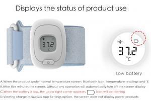 Termometru Digital Inteligent cu Bluetooth pentru copii - Baby Smart Thermometer - iSee Care