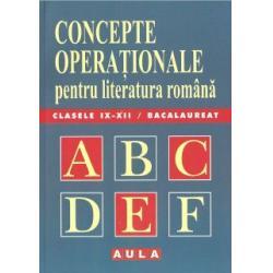 Concepte operaționale (de teorie literară)
