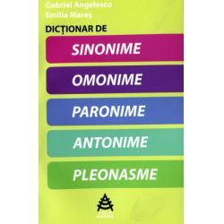 Dicționar de sinonime, omonime, paronime, antonime, pleonasme