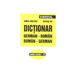Dictionar german-roman (clasele I-IV)