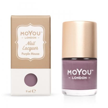 MoYou Purple Mouse