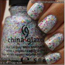 China Glaze It's a Trap-eze2