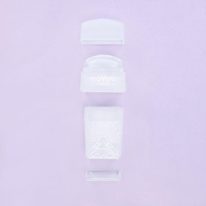 MoYou 3 in 1 Super Clear Rectangular Stamper & Scraper