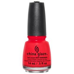 China Glaze The Heat is On