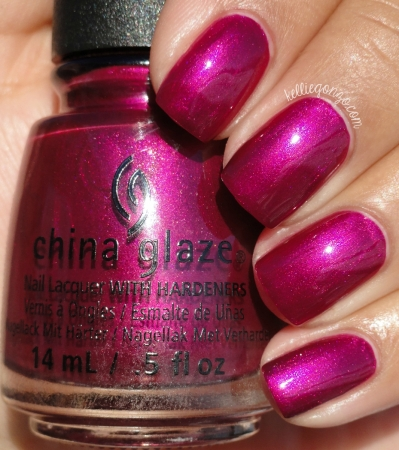 China Glaze My Lodge or Yours? + Better Not Pout2