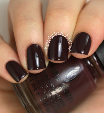 China Glaze What Are You A-freight Of?
