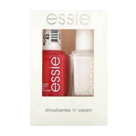 Essie Strawberries n' Cream Set0