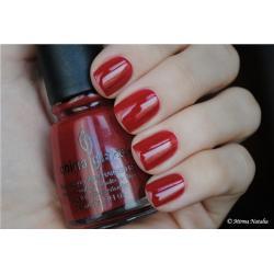 China Glaze Masai Red