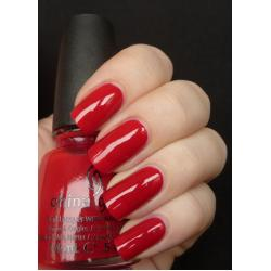 China Glaze Scarlet