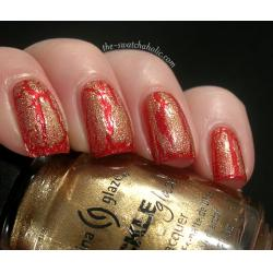 China Glaze Tarnished Gold