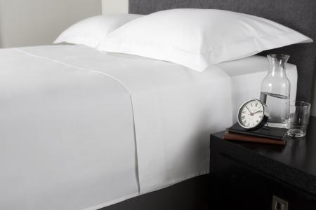 Cearceaf de pat, densitate 1000TC - Alb