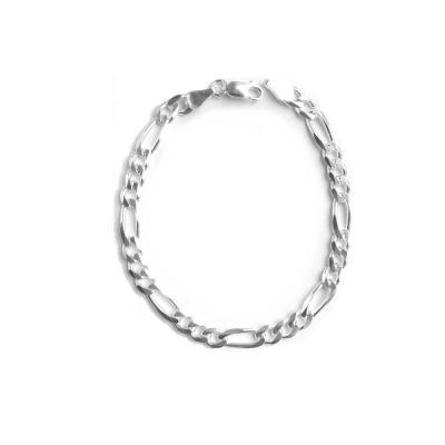 Bratara argint model figaro 6 mm