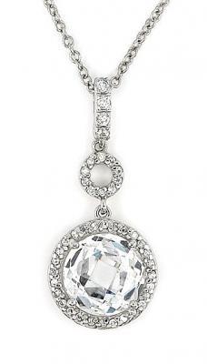 Colier elegant din argint rodiat cu zirconii1