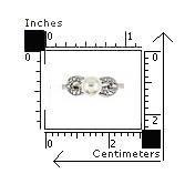Inel argint fundita cu perla naturala de apa dulce1
