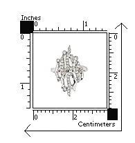 Inel lat din argint rodiat cu zirconii albe2