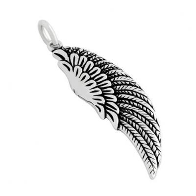Pandantiv argint in forma de aripa0