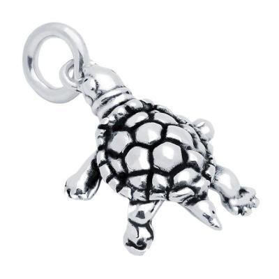 Pandantiv argint in forma de broasca testoasa