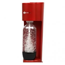 Aparat de preparat bauturi carbogazoase SodaCo Royal, rosu0