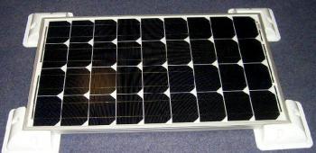Sistem Fotovoltaic rulota Kit 130 Wp 12V1