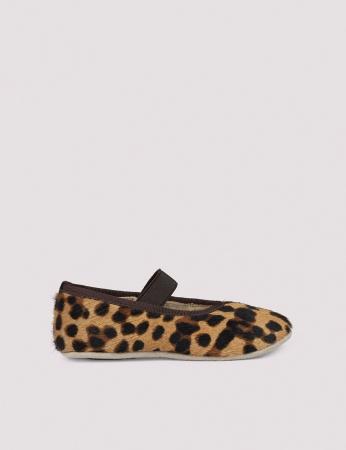Ballerina Shoe w Elastic Blur Leo1