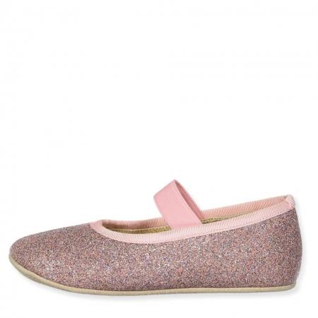 Ballerina Shoe w Elastic Disco1