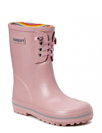 Classic Rubber Boots Old Rose1