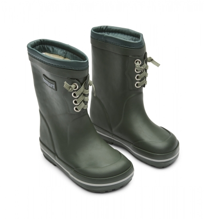 Classic Rubber Boots Warm Army1