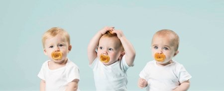Duck Pacifier Symm - Natural6
