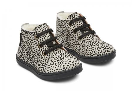Isac Lace Tex Cheetah Black Spot