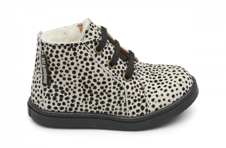 Isac Lace Tex Cheetah Black Spot1