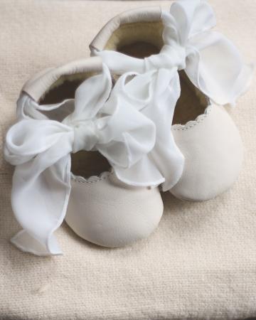 Lieve Lining Off White Leather+Cream Chiffon