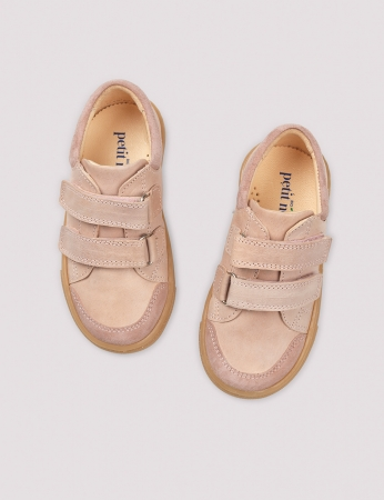 Low sneaker soft pink