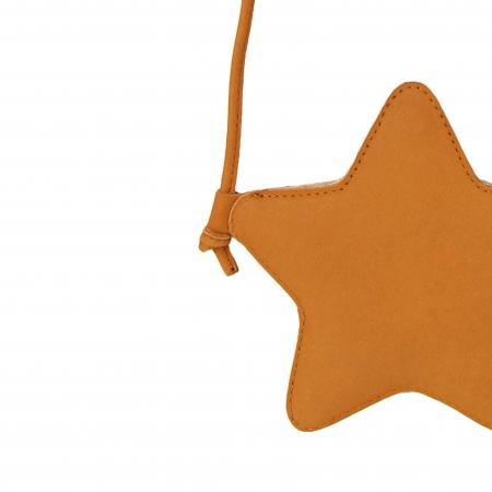 Milo Purse Star Caramel Nubuc