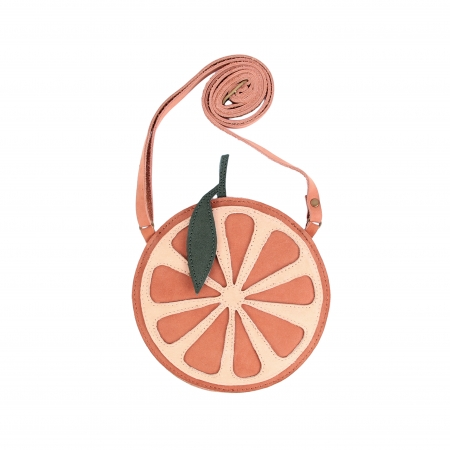 Nanoe fruit purse Grapefruit