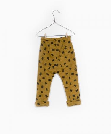 Pantaloni jerseu print1
