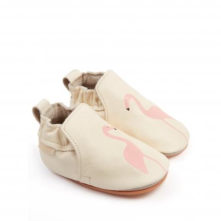 Rio Flamingo Cream Leather1