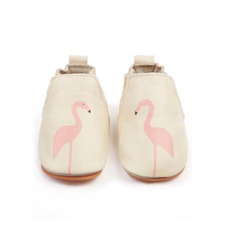 Rio Flamingo Cream Leather0