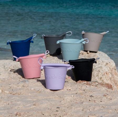 Scrunch bucket Dusty Rose5