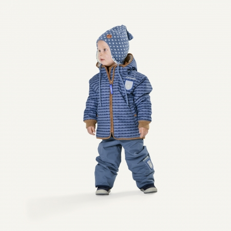 Vanu soft winter jacket pebbles blue3