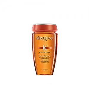 Sampon pentru par uscat si rebel Kerastase Nutritive Bain Oleo Relax, 250 ml
